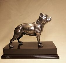 More details for pitbull - staffy trophy  -  bronze