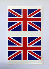 UNION JACK FLAG Stickers/Decals - RED - WHITE - BLUE WITH GLOSS LAMINATED FINISH