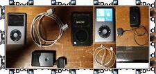 Apple iPod Classic 6th/7th Gen Black (160 GB) Model num MC297LL W/Accessories