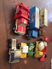 Vintage lot Tonka Trucks toys 60's 70's Dune Buggy Semi Fire cement Race Car Old