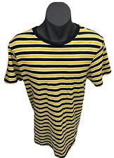 Crew Tee Bumblebee Men's Yellow & Black Striped T Shirt Sz XL Tag Cotton On