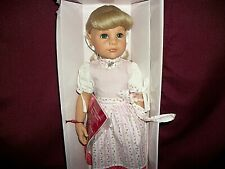 """NIB Gotz Hildegard Gunzel 18"""" Doll - Lili - Bavarian w/Tags/COA/RedWristTag"""