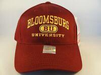 Bloomsburg Huskies NCAA Vintage Snapback Hat Cap American Needle Maroon
