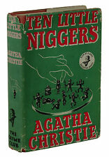 Ten Little Niggers ~ AGATHA CHRISTIE ~ First Edition 1939 ~ 1st Printing ~ DJ