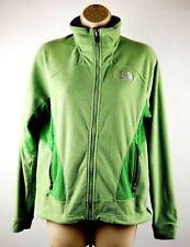 The North Face Green Women's Sz S Small Full Zip Fleece Jacket Sweater
