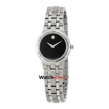 Movado Metio Black Dial Ladies Watch 0606204