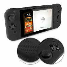 TUFF LUV Nintendo Switch Anti-slip Silicone protective Case (All in one) - Black