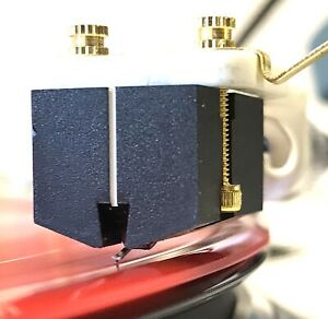 Denon DL-103 Low Output Moving Coil Cartridge Nude Black Diamond Elliptical