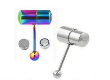 Vibrating Tongue Bar Bell Body Jewellery Stud Piercing With Batteries Included