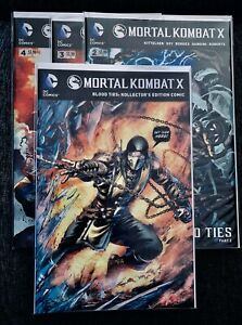 Violence Comic Book Bundle (Mortal Kombat, Punisher, Lobo)