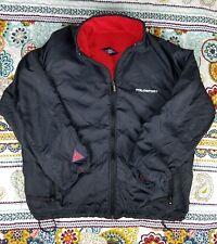 Ralph Lauren Polo Sport Vintage Reversible Fleece Jacket Windbreaker Sz XL 90s