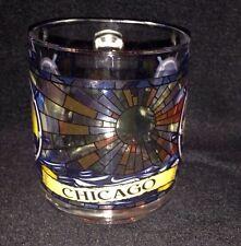 Chicago Stained Glass Look Skyline Navy Pier Coffee Mug