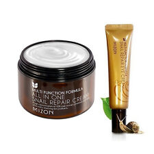 [MIZON] All In One Snail Cream 120ml [Super Size] + Snail Eye Cream Tube 15ml