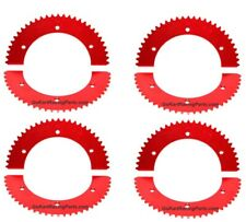 #35 Chain Sprocket Go Kart Racing 53-56 Tooth Mini Bike Gear Hub Split Sprockets