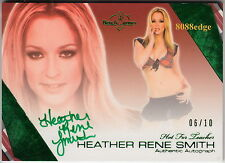 2011 BENCHWARMER HOT 4 TEACHER AUTO: HEATHER RENE SMITH #6/10 AUTOGRAPH PLAYMATE