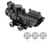 Air Rifle Scope 4X32mm Red/Green/Blue Illuminated Rapid Range Reticle Airsoft