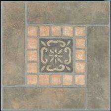 "Mintcraft 3992690 Case 45 Slate Inlay 12"" X 12"" Vinyl Floor Tile Self Adhesive"