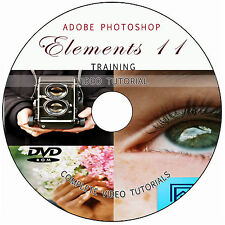LEARN ADOBE PHOTOSHOP ELEMENTS 11: SOFTWARE VIDEO TUTORIALS TRAINING GUIDE DVD