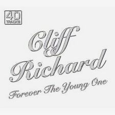 CLIFF RICHARD FOREVER THE YOUNG ONE NEW 2 CD ** 40 Vintage Rock N Roll Tracks **