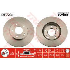 Bremsscheibe, 1 Stück TRW DF7231