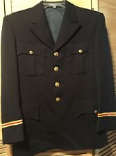 Us Army 38 S Artillery Officer Service Asu Dress Blue Jacket Coat Heavyweight