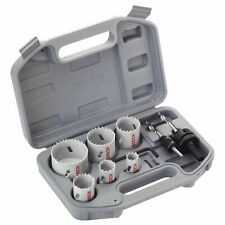 BOSCH 2608580804 Specialised Electricians 9 Piece Bi-Metal Holesaw Kit