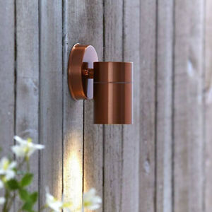 CGC Copper Adjustable Wall Ceiling Spotlight Light Outdoor Indoor Spot Light