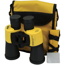 Binoculars, 7 x 50 Magnification Auto Focus Waterproof Marine Yellow Binoculars