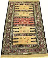 Kelim Gelim Perser Teppich Sumak handgewebt Ghuchan Persien/IRAN 175cmx 95cm NEU