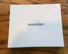 Authentic PANDORA PURSE w/PANDORA BRACELET 3 BEADS ~ EARRINGs~ LOT GT0673 $229
