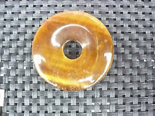Anhänger Donut  rund - Tigerauge  / Sofortversand  super schön  44 mm Geschenk
