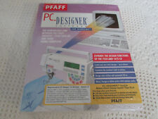Pfaff 7550/1475 PC Designer Software Complete, New Cable RARE HTF for Windows