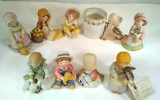 Holly Hobbie miniatures lot 9 repaired pieces