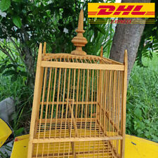 Bird House Vintage Wood Style Cage Wire Antique Birdcage Decorative Beauty DHLEx