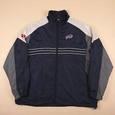 Vintage REEBOK NFL BUFFALO BULLS Blue Sports Jacket Men's XL R26048