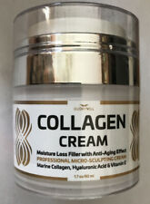Collagen Cream By Glorywill, Moisture Loss Filler With Anti-Aging Effect, 1.7 oz