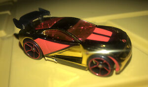 LOOSE 2007 Hot Wheels MYSTERY CARS * POWER RAGE * RED & GOLD VARIANT