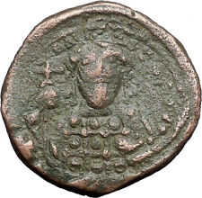 Constantine X  Ducas 1059AD Large Ancient Byzantine Coin JESUS CHRIST i48291
