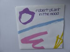 """ROBERT PLANT  IN THE MOOD  7"""" SINGLE RECORD 1983"""