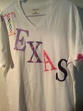 Texas Ladies Night Shirt With Lace, XLarge