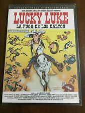 LUCKY LUKE LA FUGA DE LOS DALTON - 80 MIN - DVD PAL 2  SLIMCASE NEW SEALED NUEVO