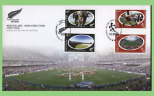 New Zealand /Hong Kong 2004 Rugby Joint Issue on First Day Cover