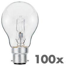 100x halógena bombilla a55 b22 53w = 70w regulable blanco cálido luminizer 3042 100er set