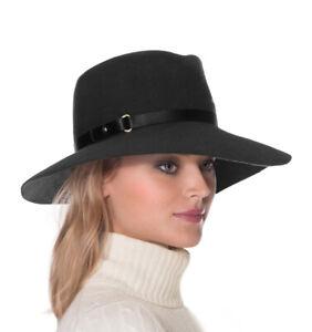 Authentic NWT Eric Javits Luxury Fashion Designer Women Hat - Fanny in Black
