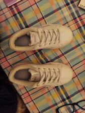 puma girl's white sneakers size 12