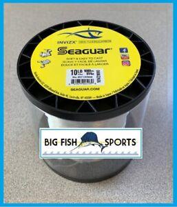 SEAGUAR INVIZX 100% Fluorocarbon Line 10lb/1000yd 10 VZ 1000 FREE USA SHIP!