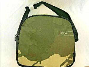 Targus Camouflage Kids School Pack Lunch Insulated Picnic Shoulder Strap Green