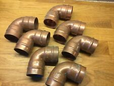 6 X Endex 35mm Elbow Bend Copper Fittings Old Stock