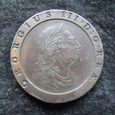 More details for 1797 cartwheel two penny piece 2d george iii superb example
