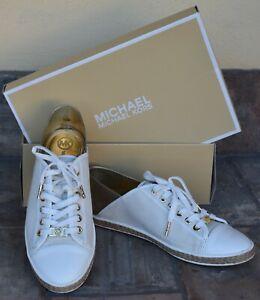 Michael Kors Originali - Sneakers  - Bianco Oro - n.40 Nuove
